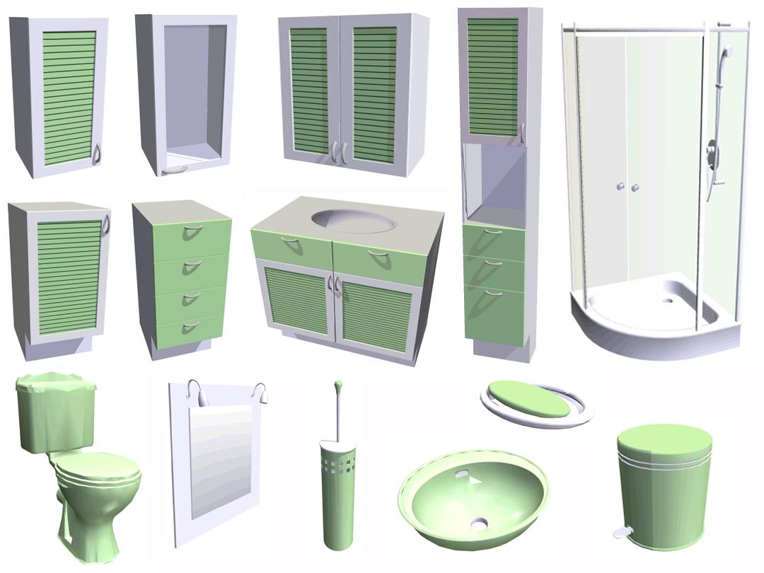 Cuisine salle de bains 3d for 3d salle de bain
