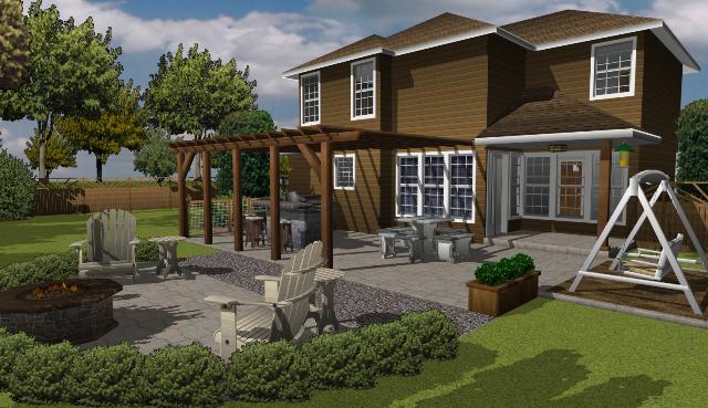 architecte 3d jardin et ext rieur 2014 pour mac. Black Bedroom Furniture Sets. Home Design Ideas