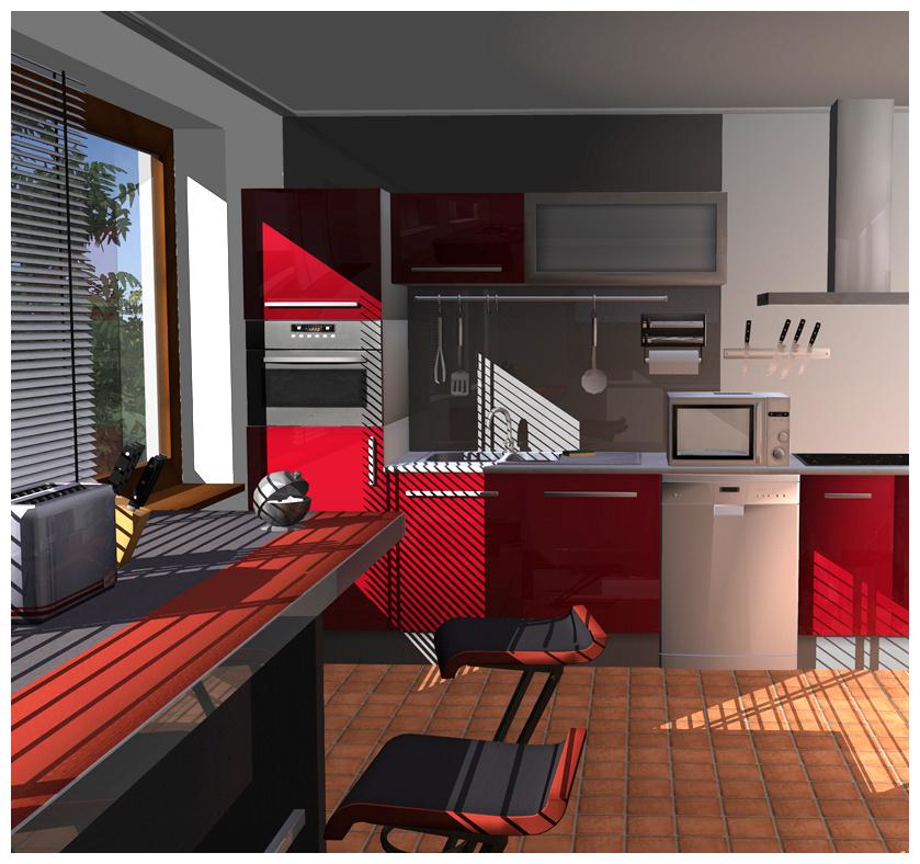 Cuisine salle de bains 3d for Cuisine et salle de bain 3d