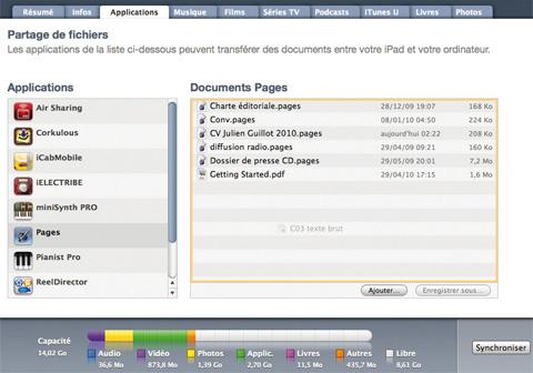 Ipad Transferer Des Fichiers Entre L Ordinateur Et L Ipad