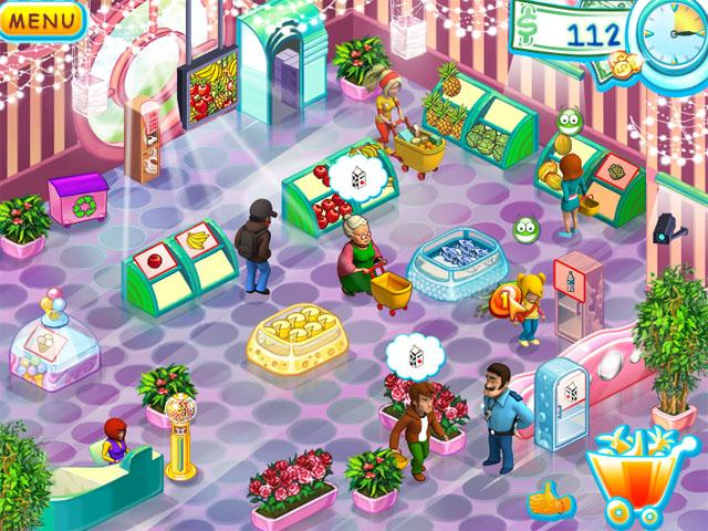 Screenshot of Supermarket Mania.