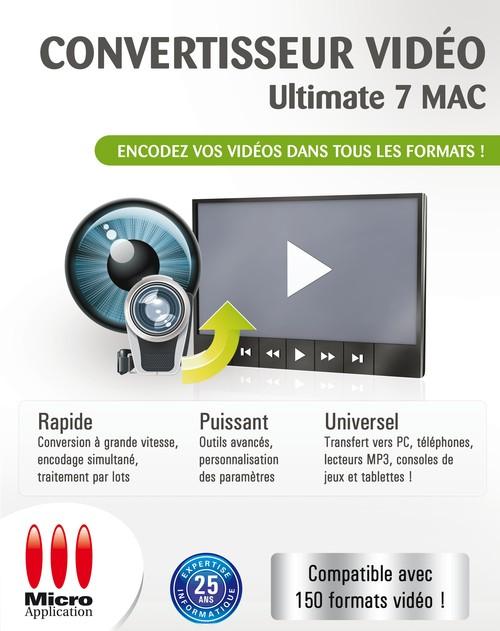Convertisseur Vidéo Ultimate 7 MAC