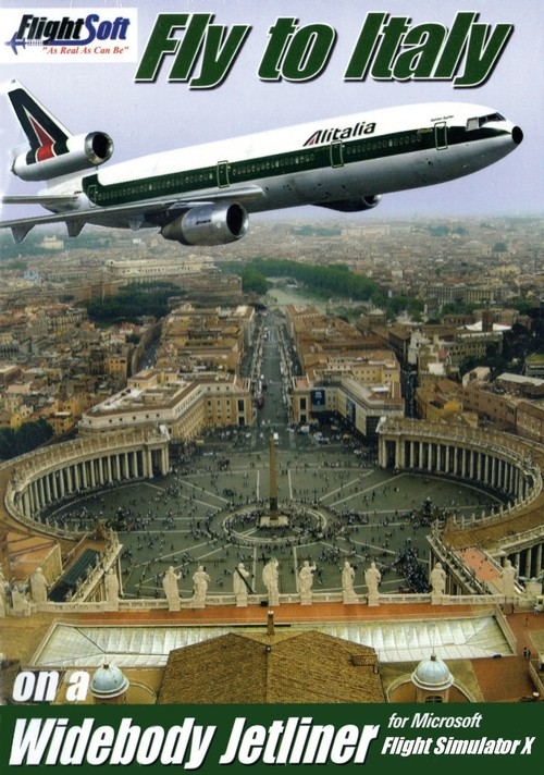 Add-on FSX - Fly to Italy