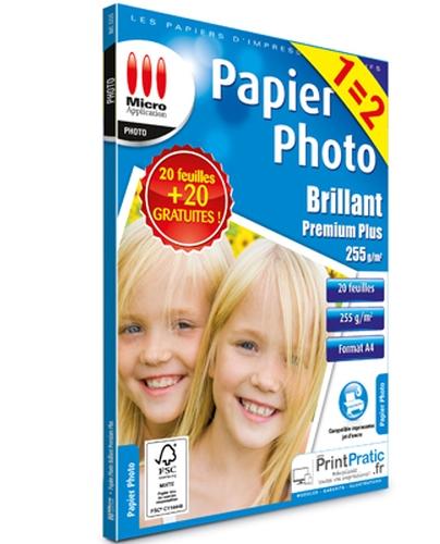 Papier Photo A4 255g Offre spéciale 1=2
