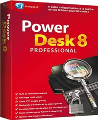 Image miniature PowerDesk 8 Professional