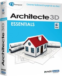 architecte 3d pour mac ultimate edition est un logiciel. Black Bedroom Furniture Sets. Home Design Ideas