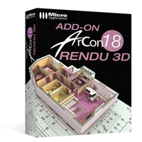Image miniature Add-On ArCon 18 Rendu 3D