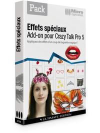 Image miniature CrazyTalk : Effets spéciaux