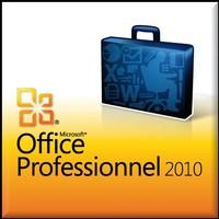 Image miniature Office Professionel 2010