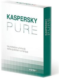 Image miniature Kaspersky PURE - 3 postes