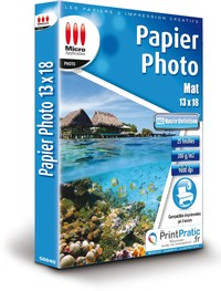 Image miniature Papier Photo Mat 13x18 - HD