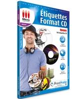 Image miniature Étiquettes CD Opaques
