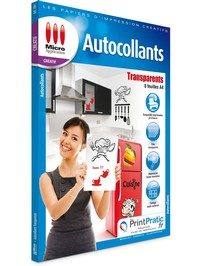 Image miniature Autocollants Transparents