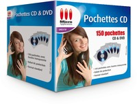 Image miniature 150 Pochettes pour CD & DVD