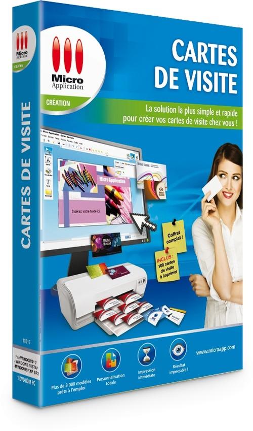 micro application carte de visite Cartes de visite