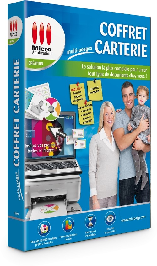 Image Miniature Coffret Carterie