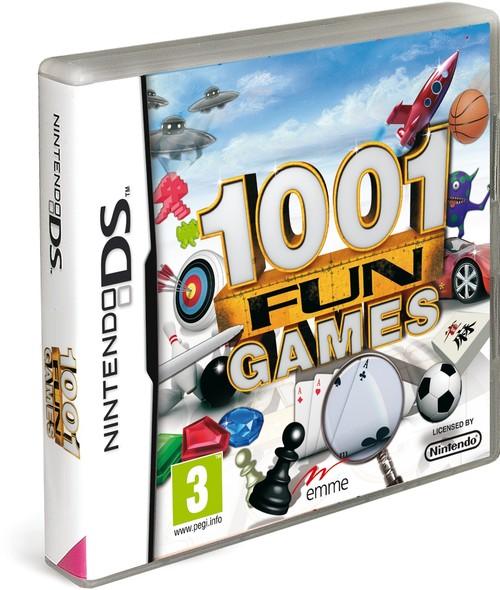1001 fun games ds. Black Bedroom Furniture Sets. Home Design Ideas