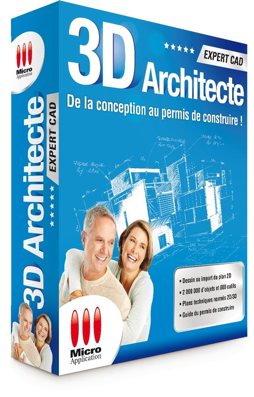 3d architecte expert cad for 3d architecte micro application