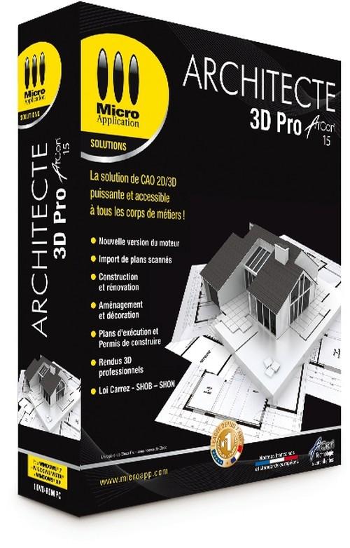 Logiciel d 39 architecture 3d arcon 15 et jetcad cao dwg for Cout d un architecte