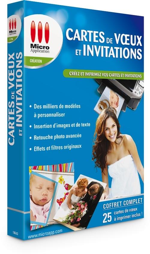 logiciel carte de voeux et invitation gratuit Cartes de Voeux & Invitations