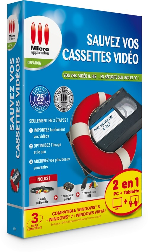Sauvez vos cassettes