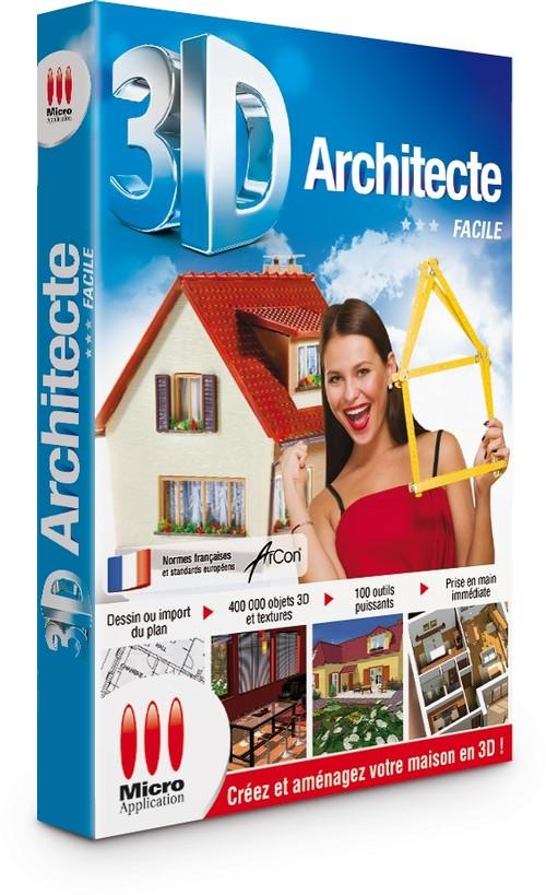 3d architecte facile - Logiciel 3d architecte ...