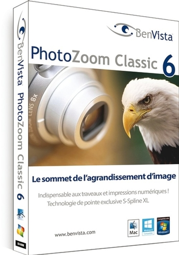 PhotoZoom 6 Classic Windows