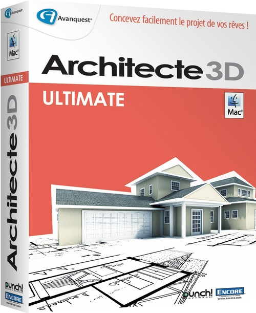 Architecte 3d ultimate 2014 pour mac for 3d architecte micro application