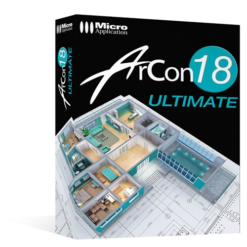 Arcon 18 ultimate for Logiciel 3d architecture