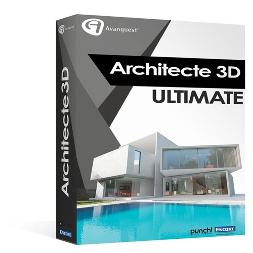 architecte 3d ultimate 2017 v19. Black Bedroom Furniture Sets. Home Design Ideas