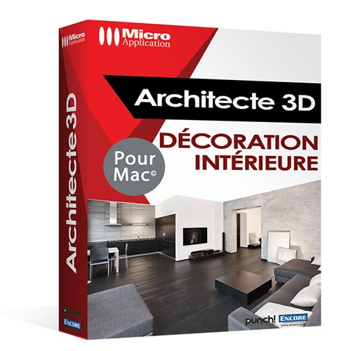 Architecte 3d d co int rieure 2017 v19 mac for Logiciel decoration interieur mac