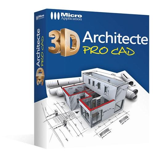 3d architecte pro cad. Black Bedroom Furniture Sets. Home Design Ideas