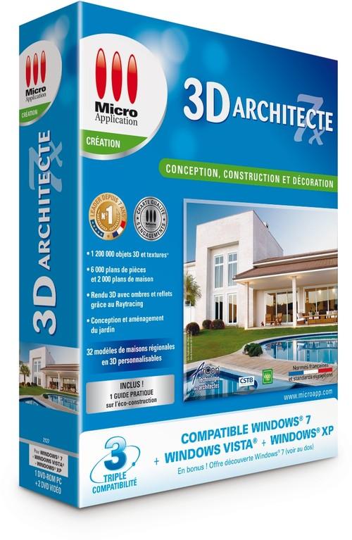3d architecte 7x operations sp ciales for Concevez vos propres plans de maison gratuitement