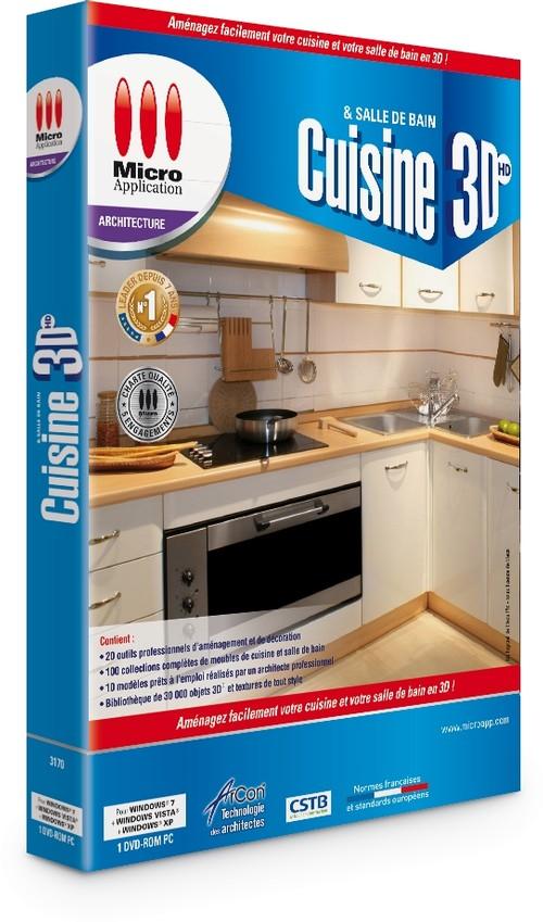 logiciel cuisine et salle de bains 3d. Black Bedroom Furniture Sets. Home Design Ideas