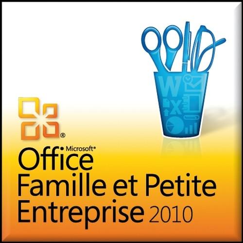 Microsoft office famille et petite entreprise 2010 suite - Office famille et petite entreprise 2010 ...