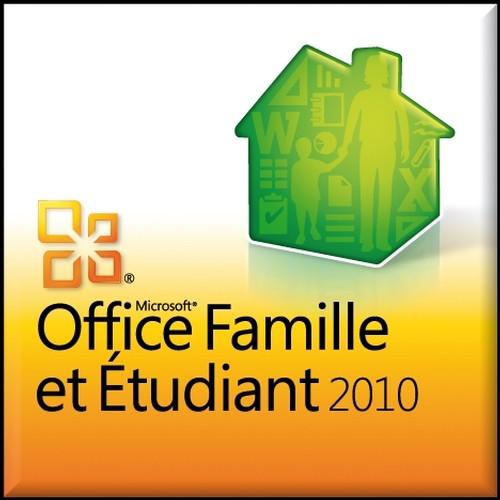 Microsoft office famille et etudiant 2010 suite office - Office famille et etudiant 2010 3 postes ...