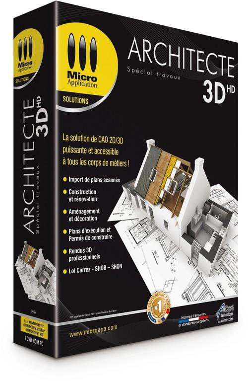 Logiciel d 39 architecture 3d arcon cao construction for Micro application architecte 3d