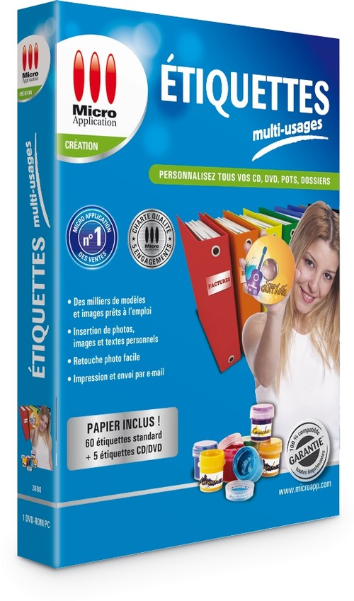 Image Miniature Etiquettes Multi Usages