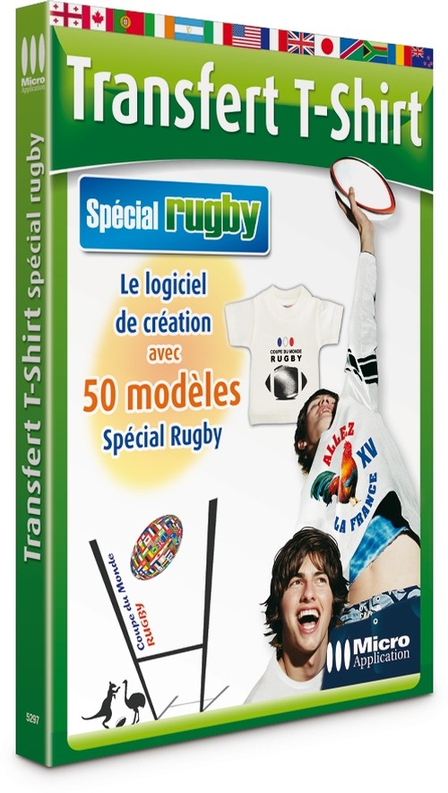 transfert t shirt sp cial rugby vie pratique. Black Bedroom Furniture Sets. Home Design Ideas