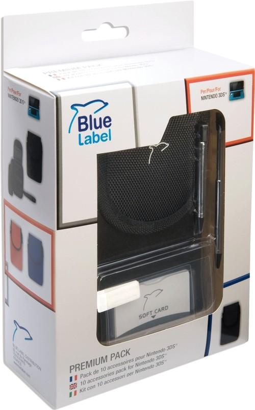 Pack 10 accessoires 3ds noir accessoires nintendo for Ecran noir appareil photo 3ds