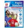 Papier transfert pour t shirts et textiles fonc s - Papier transfert pour textile ...